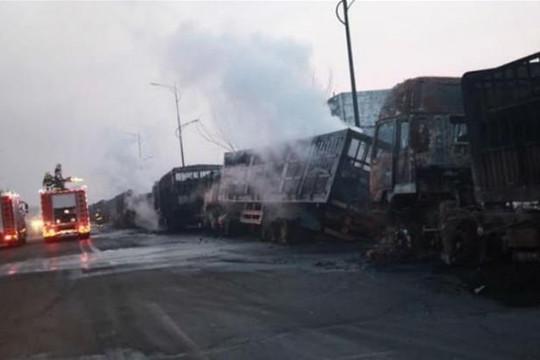 Nổ lớn gần nhà máy hóa chất tại Trung Quốc, 22 người thiệt mạng