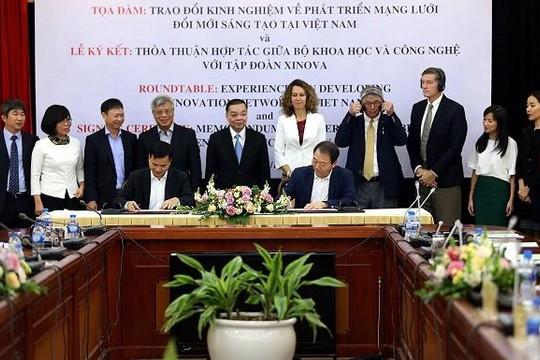 Bộ KH&CN bắt tay tập đoàn Hàn Quốc  thành lập Trung tâm Đổi mới sáng tạo