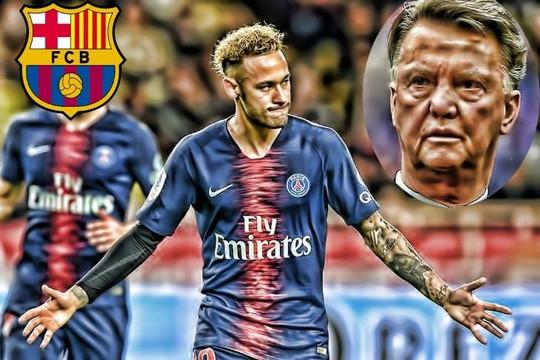 Louis Van Gaal cảnh báo Barcelona không nên tái ký hợp đồng với Neymar