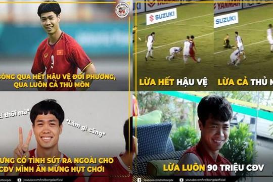 Công Phượng 'lừa' 90 triệu người Việt, Philippines ăn mừng trận thua trước Việt Nam