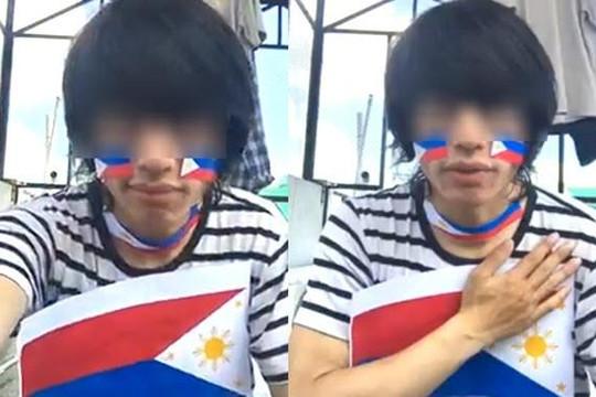 Đăng clip ủng hộ tuyển Philippines thắng Việt Nam, thanh niên ở Đà Lạt bị dọa giết