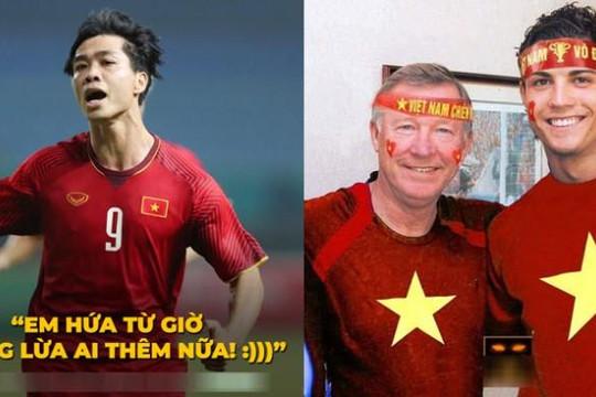 Công Phượng tạ lỗi với 90 triệu người Việt, Ronaldo chúc Việt Nam vô địch AFF Cup