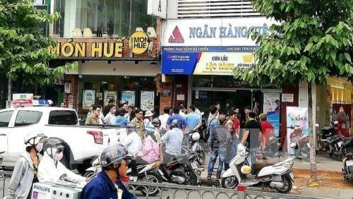Vụ cướp tại chi nhánh VietABank: Lãnh đạo ngân hàng lên tiếng