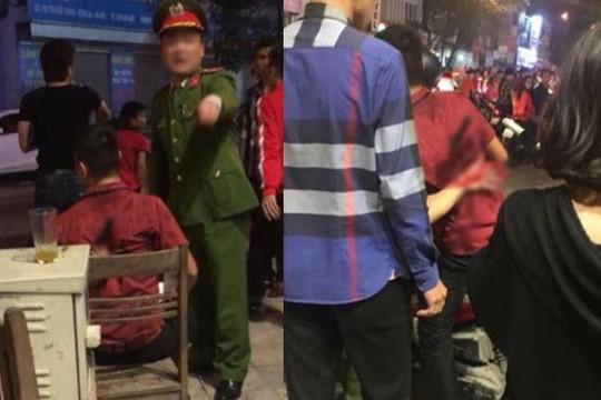 Thanh niên bị đâm dao dính lưng khi ra đường mừng Việt Nam vào chung kết AFF Cup