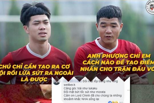 Đức Chinh học Công Phượng lừa 90 triệu người, fan vào 'nhà' Ronado chúc Việt Nam vô địch
