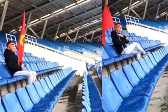 Thanh niên nhầm lịch thi đấu đến sân Mỹ Đình xem Việt Nam đá chung kết lượt đi AFF Cup?