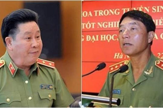 Khởi tố 2 cựu thứ trưởng Bộ Công an Trần Việt Tân, Bùi Văn Thành