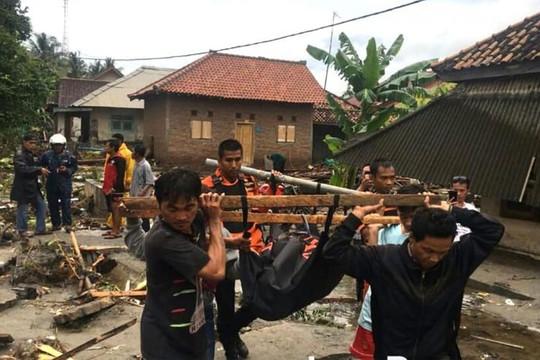 Sóng thần ở Indonesia khiến 168 người chết