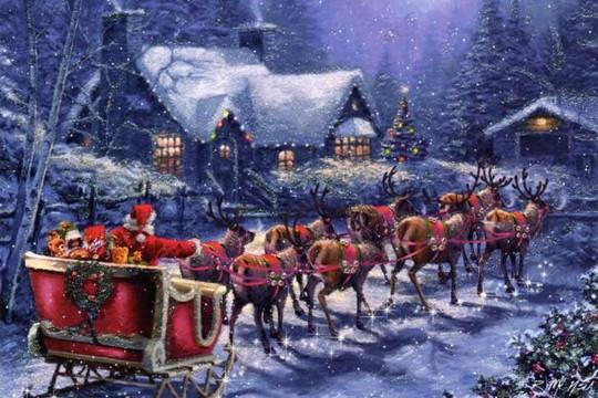 Ông già Noel dạy ta biết cho đi nhiều hơn là nhận về