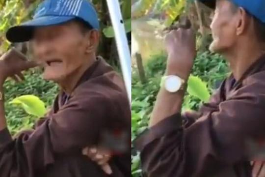 Thực hư clip cụ ông 91 tuổi ngủ chung giường với 4 vợ, muốn cưới thêm chân dài
