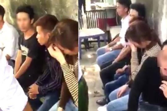5 nam nữ thanh niên ở Hà Nội đi taxi không trả tiền còn đánh tài xế bầm mặt