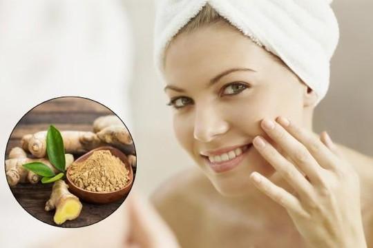 5 tác dụng bất ngờ của gừng với làn da
