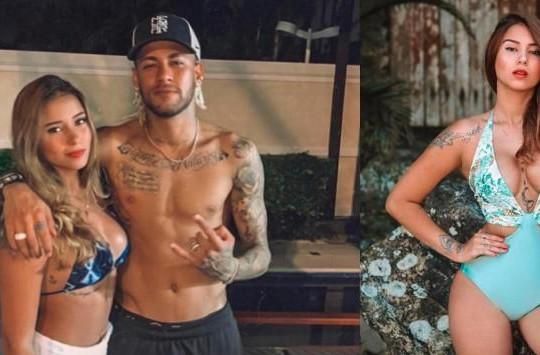 Neymar tình tứ bên bạn gái tin đồn nóng bỏng
