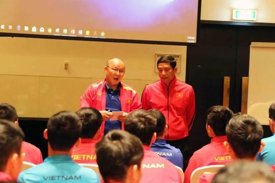 Tuyển Việt Nam tập trung họp với AFC để nắm vững luật chơi VCK Asian Cup 2019