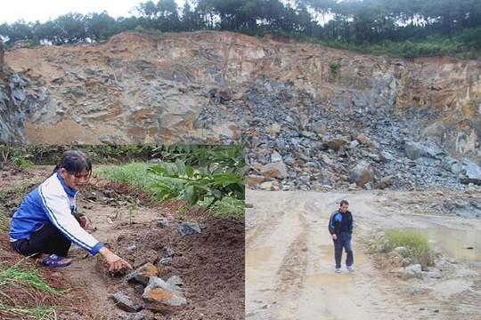 Hà Tĩnh: Người dân chạy tán loạn khi doanh nghiệp nổ mìn khai thác đá