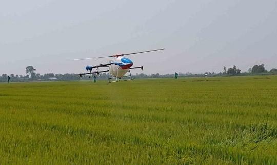 Nghiên cứu phát triển trực thăng không người lái phục vụ nông nghiệp