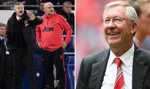 Trước giờ M.U đại chiến Tottenham, Sir Alex Ferguson mang lời khuyên đến Solskjaer