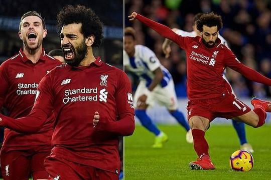 Liverpool tái lập khoảng cách 7 điểm trước Man City