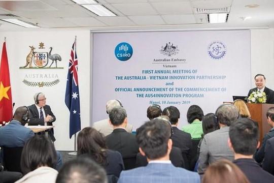 Việt Nam - Úc tăng cường hợp tác, thúc đẩy đổi mới sáng tạo