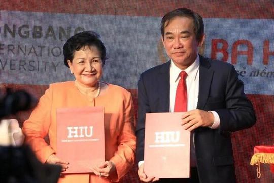 ĐH Quốc tế Hồng Bàng hợp tác doanh nghiệp đưa ứng dụng KHCN vào thực tiễn