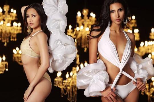 Dàn thí sinh Miss Intercontinental 2019 và Ngân Anh khoe thân hình sexy với bikini