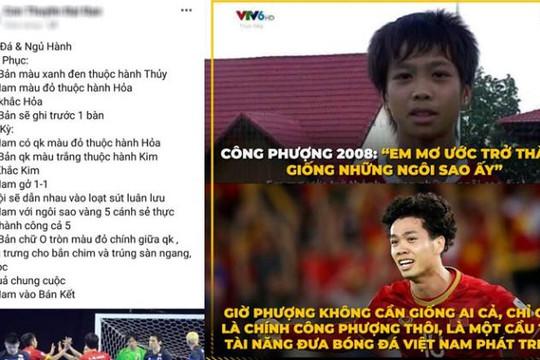 Thầy bói đoán Việt Nam thắng Nhật bằng penalty, Công Phượng ẵm bàn thắng đẹp nhất