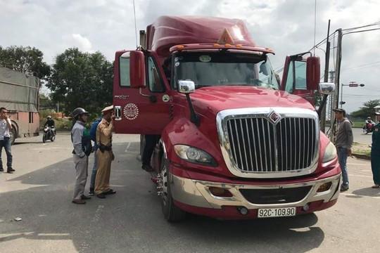 Đà Nẵng: Phát hiện phụ xe container dương tính với ma túy