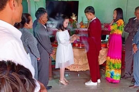 Thực hư đám cưới chú rể 15 tuổi và cô dâu 13 tuổi ở Đồng Nai?