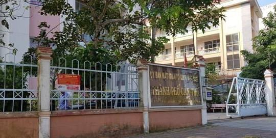 Cần Thơ: Kỷ luật cảnh cáo Ủy viên Ban Thường vụ Thành ủy - Chủ tịch UBMTTQ