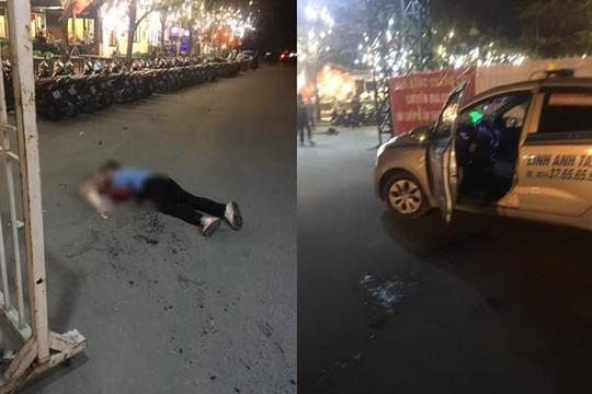 Tài xế taxi bị cắt cổ bên ngoài sân Mỹ Đình, dân mạng đề xuất giải pháp chống cướp