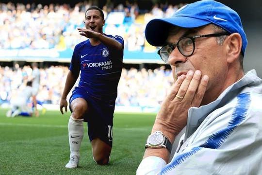 HLV Maurizio Sarri: 'Eden Hazard có thể rời khỏi Chelsea nếu muốn'