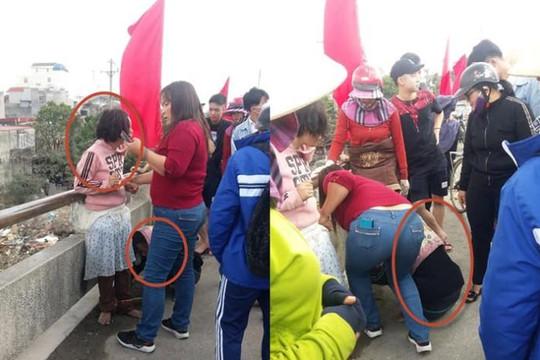 Giải cứu cô bé bị mẹ xích chân bắt đi xin tiền để đánh đề ở Hải Phòng