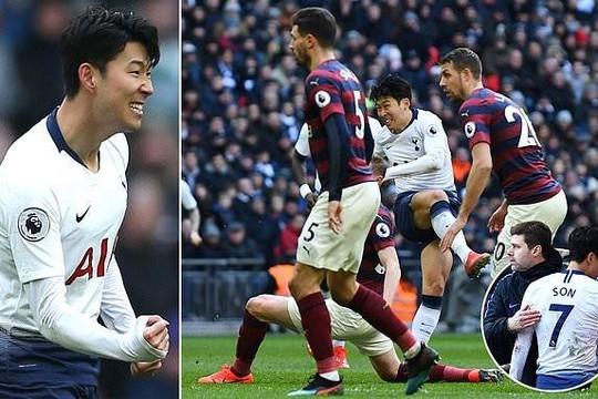 Chơi vật vờ ở Asian Cup, về đá Ngoại hạng Anh, Son Heung-min liên tục 'nổ súng'