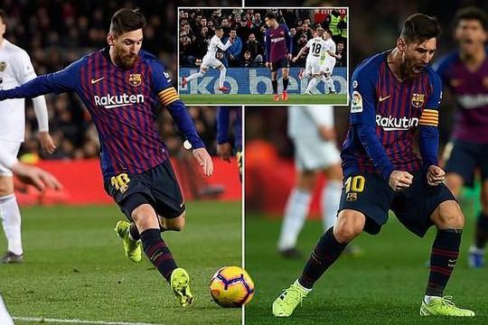 Messi, Ronaldo đều lập cú đúp trong ngày Barca, Juve bị chia điểm