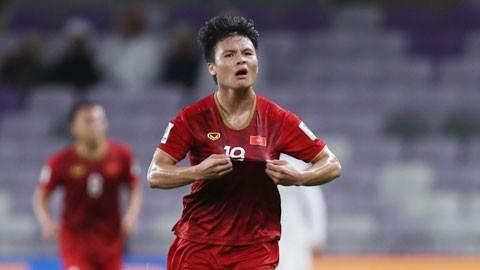 Quang Hải dẫn đầu bình chọn Top 10 bàn thắng đẹp tại Asian Cup 2019