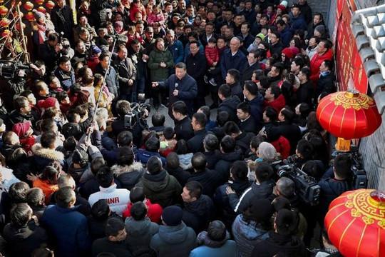 Người lao động Trung Quốc bị nợ lươngTết, ông Tập Cận Bình lo giữ ổn định xã hội