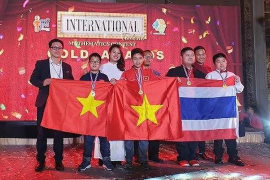 Học sinh Việt Nam giành 2 HCV tại cuộc thi Toán học quốc tế