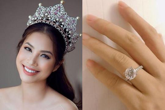 Hoa hậu Phạm Hương xác nhận đã đính hôn trong ngày Valentine