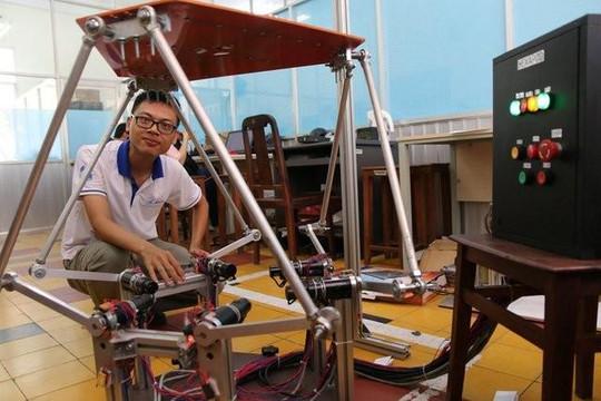 ĐH Sư phạm Kỹ thuật TP.HCM đào tạo miễn phí ngành robot, trí tuệ nhân tạo