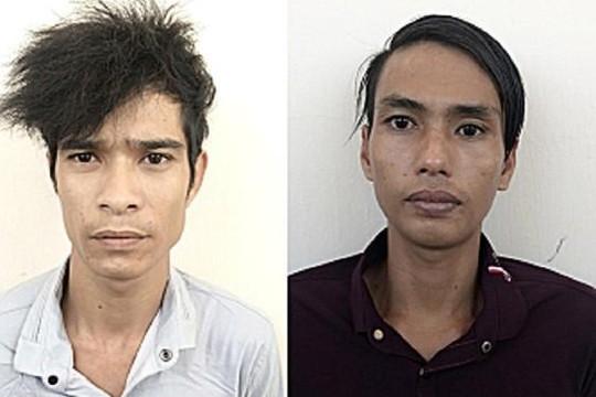 An Giang: Người dân bắt 2 gã giật dây chuyền