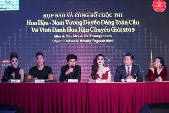 Ca sĩ Đan Trường lần đầu ngồi ghế nóng cuộc thi sắc đẹp ở Thái Lan