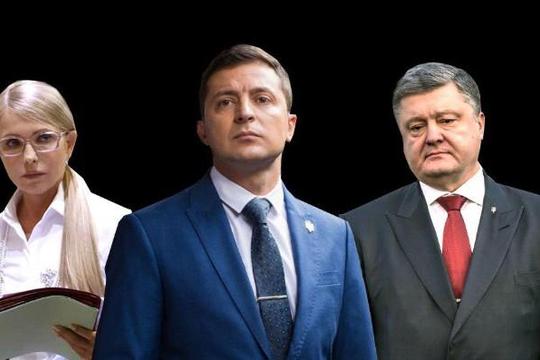 Số người Ukraine muốn diễn viên hài Volodymyr Zelensky thành tổng thống tăng mạnh