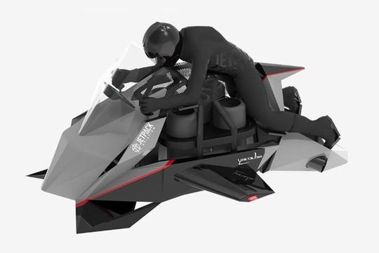 Jetpack Aviation phát triển xe mô tô bay