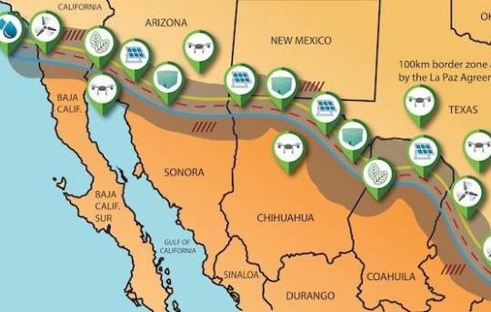 Đề án xây dựng công viên năng lượng trên biên giới Mỹ-Mexico