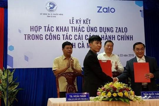 Cà Mau: Ứng dụng Zalo để cải cách hành chính