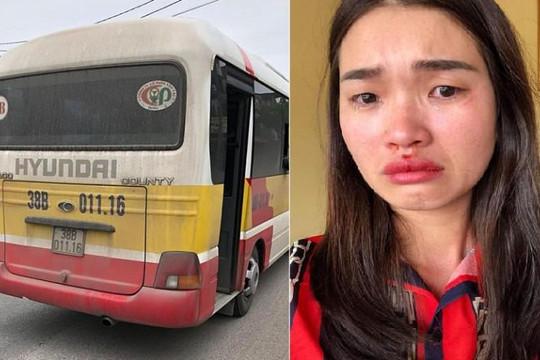 Hà Tĩnh: Điều tra vụ tài xế xe 'dù' hành hung nữ hành khách