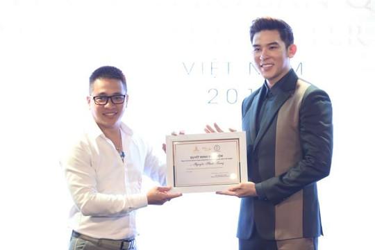 Siêu mẫu Minh Trung làm giám đốc quốc gia Mister Supranational