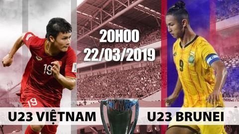 U.23 Việt Nam - Brunei: Thầy trò HLV Park Hang-seo thắng dễ dàng ngày ra quân