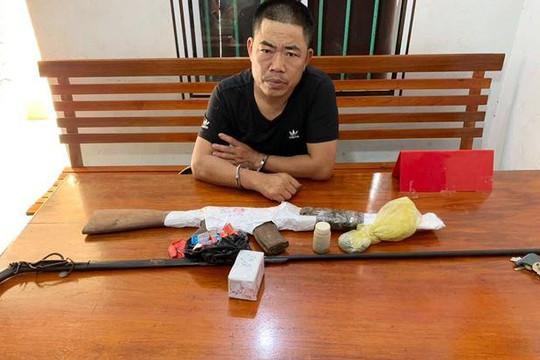 Nghệ An: Bắt người đàn ông chuyên chế tạo súng kíp để bán