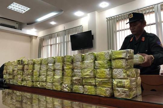 Bắt khẩn cấp ông trùm đường dây mua bán hơn 570kg ma túy